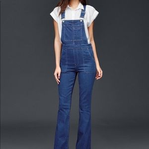 NEW GAP Flare Overalls, Small